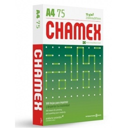 Papel A4 Chamex 500 hojas 75g
