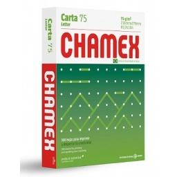 Papel Carta Chamex 500 hojas 75g