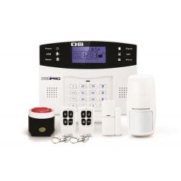 Kit Alarma GSM 99 zonas inalámbricas