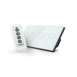 Switch de Luz Tactil Wireless Triple