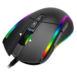 MOUSE RAZEAK GAMING RGB FALCON RM-X18 (Negro)