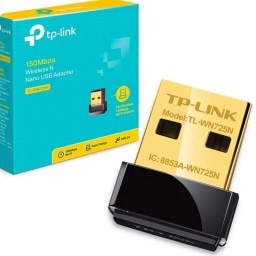 ADAPTADOR WIFI USB 150MBPS TP-LINK WN725N 2AÑOS GTIA